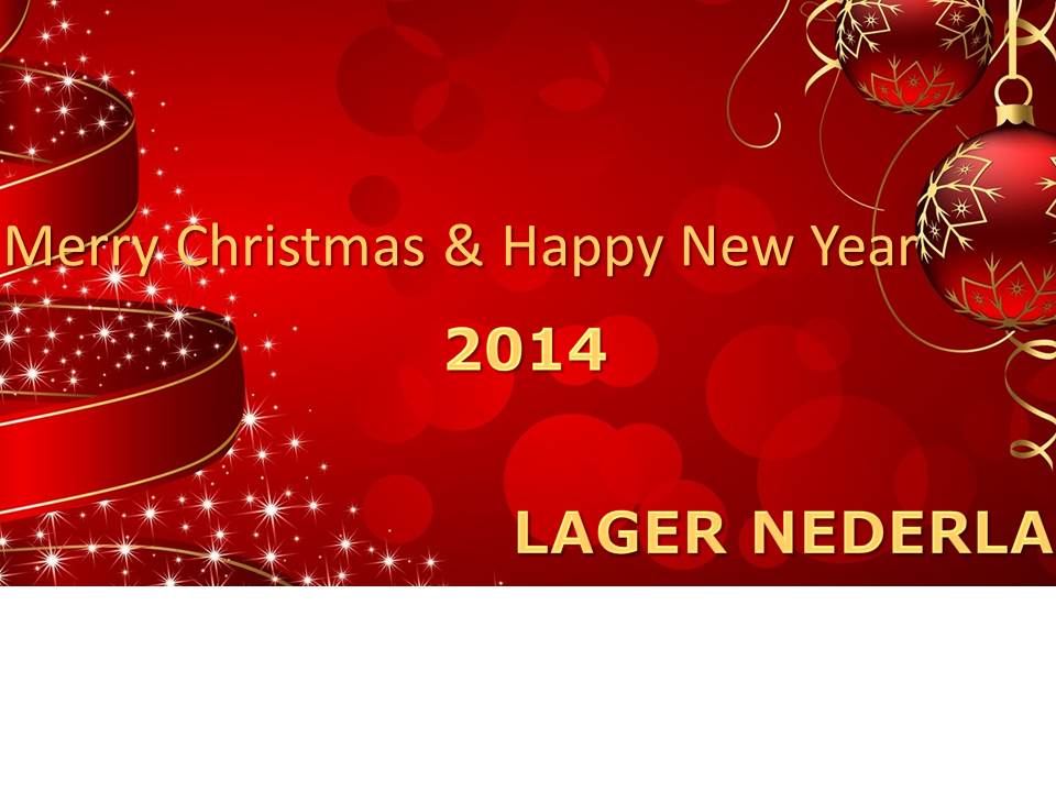 Merry Christmas & Happy New Year 2014 3 - Lager Nederland